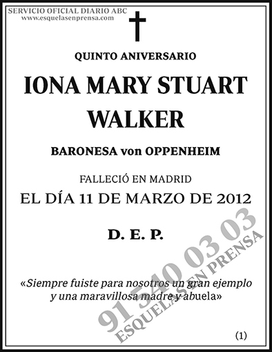 Iona Mary Stuart Walker